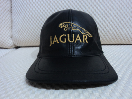 Jaguar Leather Black Baseball Hat Cap [BUY 1 GET 1 FREE]