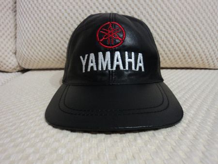 Yamaha Leather Black Baseball Hat Cap [BUY 1 GET 1 FREE]